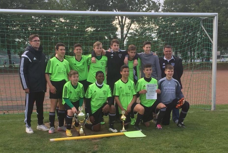 Sieger C-Jugend TSG Kastel