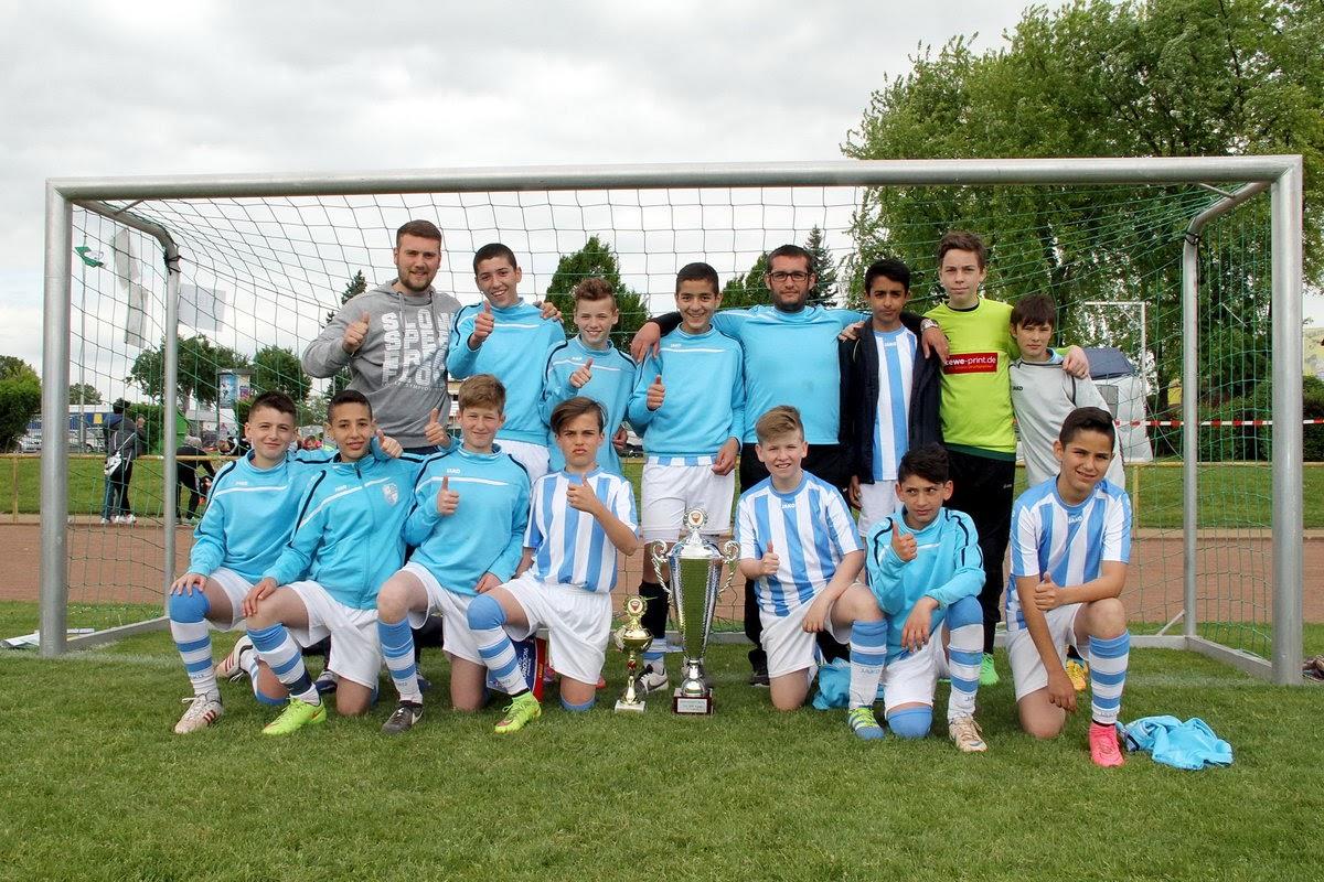 Sieger U3 D-Jugend VFB Unterliederbach