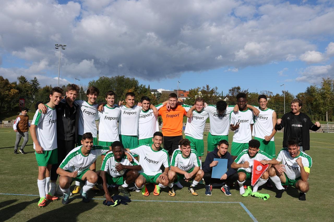 A-Jugend erfolgreich durch die 1. Kreispokalrunde