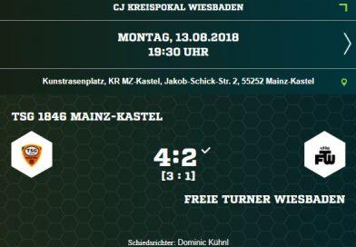 C1-Jugend gewinnt im Kreispokal gegen FTW