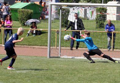 "Kurzschulung ""Torhütertraining für D- bis A-Junioren"" bei der TSG Kastel"