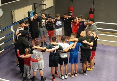 C1-Teambuilding mit Workout beim Boxweltmeister